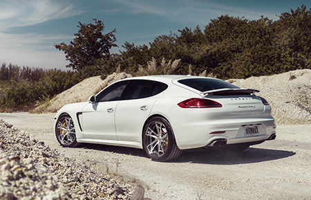 porsche panamera turbo forged concave staggered wheels