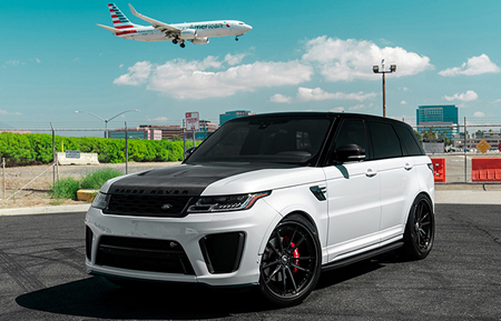 agluxury wheels agl31 range rover svr sport supercharged gloss black carbon fiber custom concave forged three piece bespoke rims anrky adv1 vossen rotiform forgiato 24in