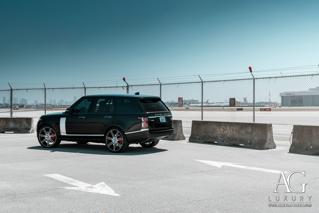 agl36 agl forge rangerover ranger rover landrover land rover hsv sport svr silver autobiography agluxury ag luxury ag wheels agwheels avant garde wheel rim rims tire tires pirelli scorpion forged  monoblock concave 24 inch 24inch suv truck Aston Martin Audi Bentley BMW Cadillac Ferrari Jaguar Lamborghini Land Rover Maserati Maybach Mercedes-Benz Porsche ten spoke forge rangeroverusa mccustoms miami mc customs mccustomsmiami machine two tone gloss black windows brushed face machined for oe oem centercap center cap