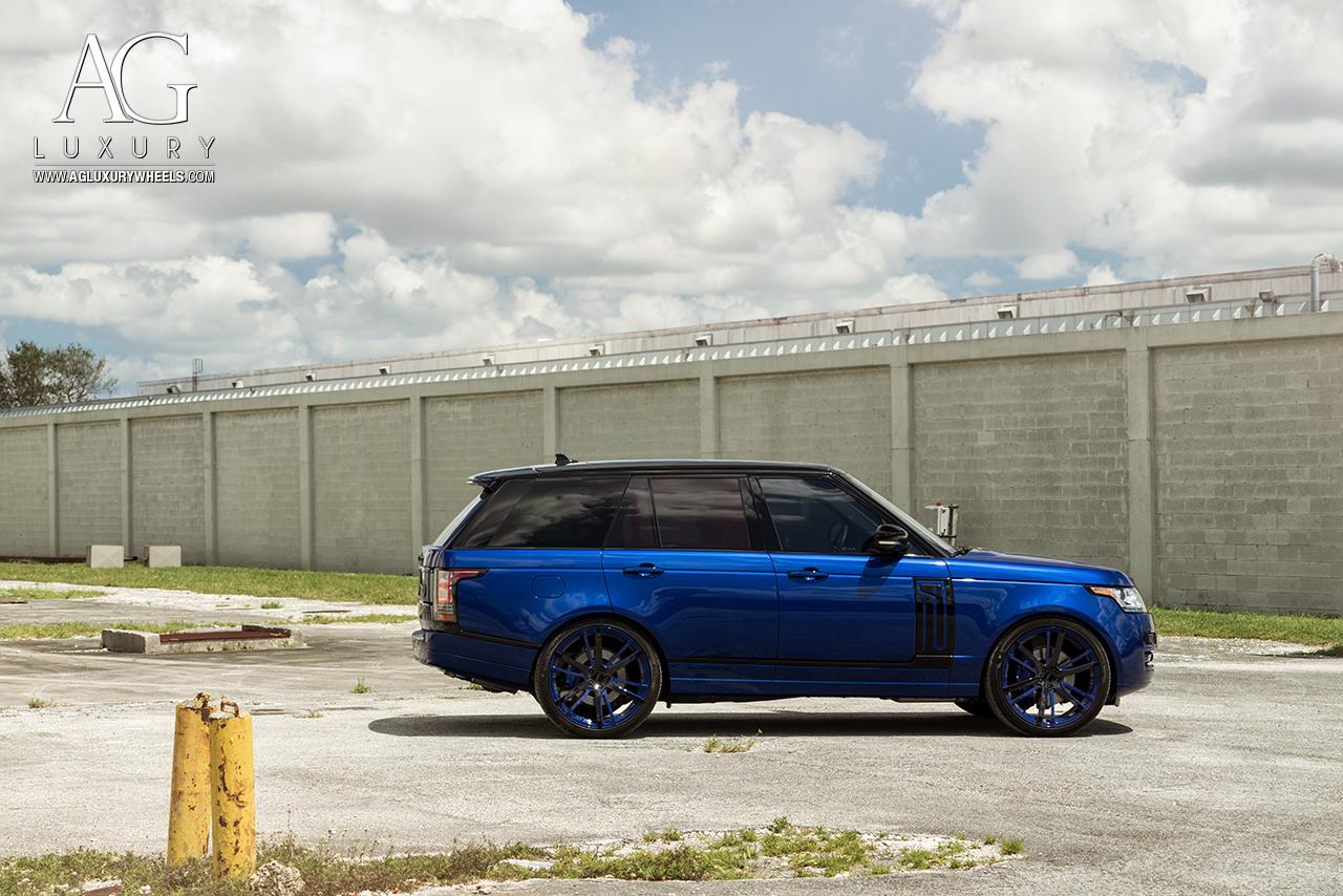 Ag Luxury Wheels Range Rover Agl18 Forged Wheels