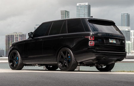 agl22 range rover hse black gloss 22inch 22in concave custom forged monoblock agluxury wheels rims miami mccustoms