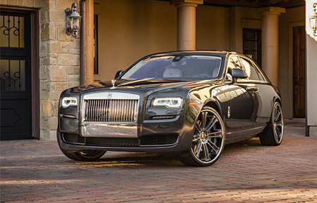 rolls royce ghost forged concave wheels