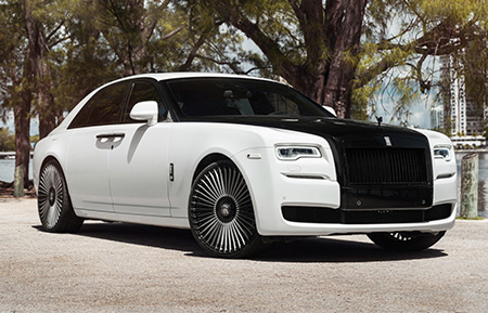 rolls royce ghost forged concave two tone wheels