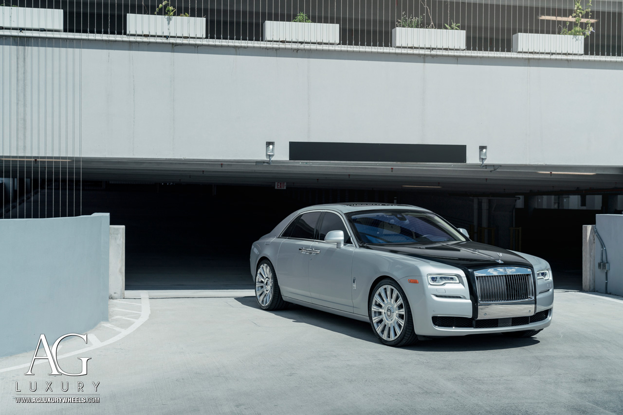 Ag Luxury Wheels Rolls Royce Ghost Monoblock Wheels
