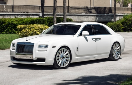 agluxury agl48 rr agl48-rr rolls royce rolls-royce ghost agluxury luxury rim rims wheel wheels monoblock phantom drophead coupe wraith dawn 22inch 22s 22 mccustomsmiami mc customs miami 2-tone brushed polished face windows
