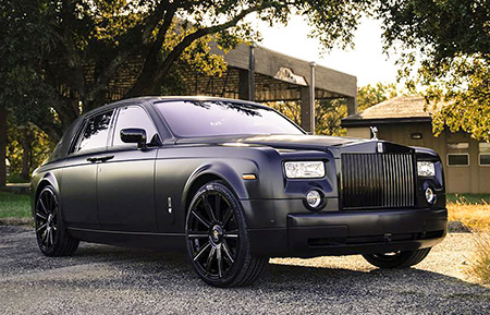 rolls royce phantom forged concave wheels