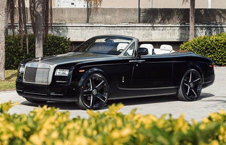 rolls royce forged wheels phantom drophead coupe concave