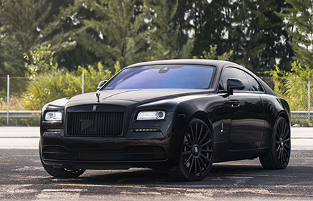 rolls royce wraith forged concave wheels