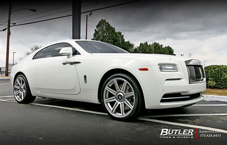 rolls royce wraith concave forged wheels