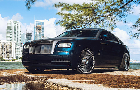 rolls royce wraith forged mesh wheels concave staggered