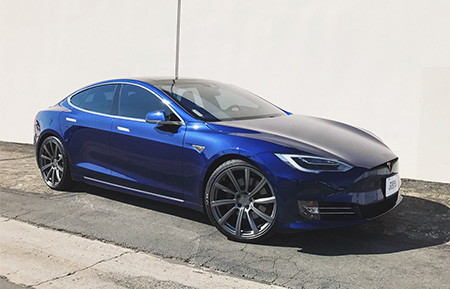 tesla model s forged staggered concave wheels
