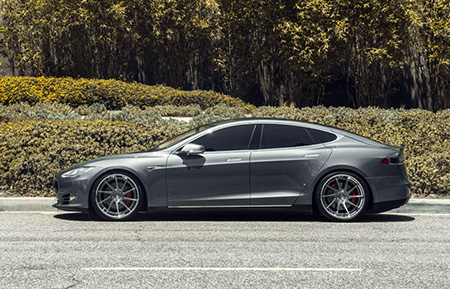 tesla model s forged concave staggered wheels