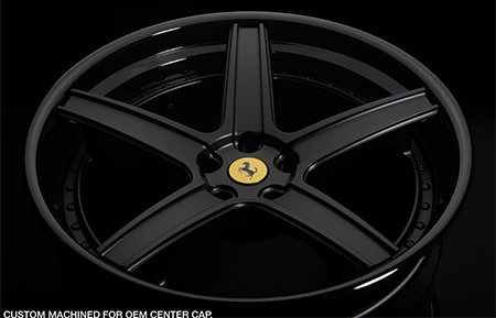 agl16 spec3 concave matte black gloss black lip forged wheels