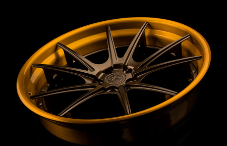 agl19 spec3 concave forged wheels wheel rims rim agwheels avant garde agluxury luxury satin bronze brushed gold bullion candy