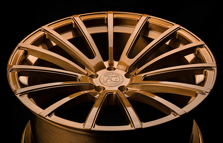 agl20 monoblock forged concave wheels brushed rims rim wheel agwheel avant garde agluxury luxury brushed monaco copper