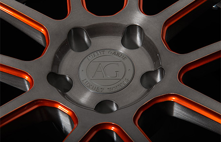 agl21 spec3 concave forged wheels brushed grigio gunmetal carbon fiber lip 3 piece