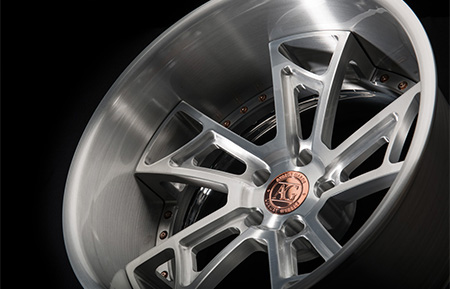 agl24 spec2 concave forged wheels brushed lip