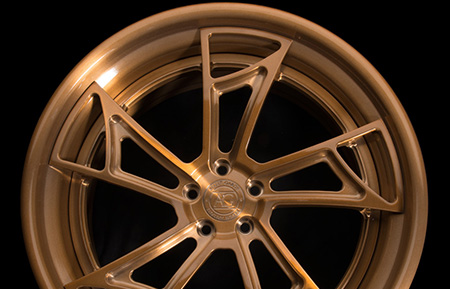 agl24 spec3 concave brushed monaco copper forged wheels