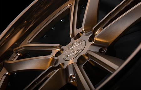 agl27 spec1 concave forged wheels matte brushed antique bronze