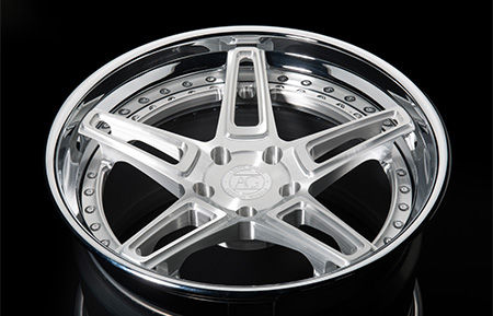 agl29 spec3 concave forged wheels brushed chrome lip