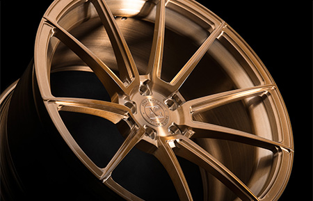 agl31 duo block brushed monaco copper forged wheels