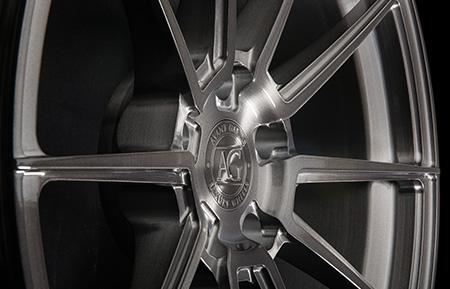 agl31 monoblock forged wheels brushed gunmetal grigio