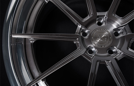 agl31 spec3 concave forged wheels brushed gunmetal grigio