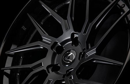 agl35 spec3 concave forged directional wheels matte black gloss black lip