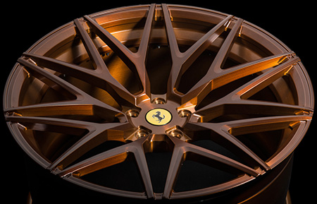 agl40 duo block forged wheels matte brushed antique bronze concave