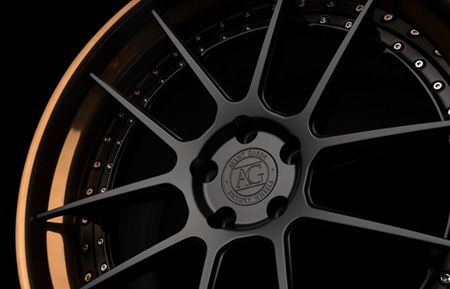 agluxury wheels agl21 brushed polished bronze matte black rims custom concave forged three piece 20in 20inch vossen rotiform anrky