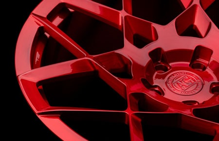 agl55 agluxury wheels rims custom forged monoblock concave lamborghini lambo urus candy apple red mesh 23in 23inch