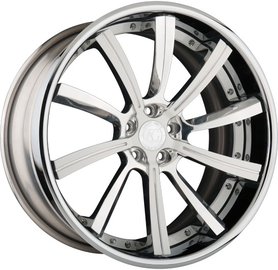 agl17 forged concave directional wheels
