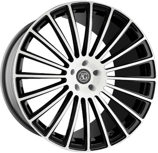 agl25 forged monoblock concave wheels
