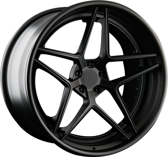 agl42 monoblock spec3 three piece custom rims rim wheel forged concave wheels