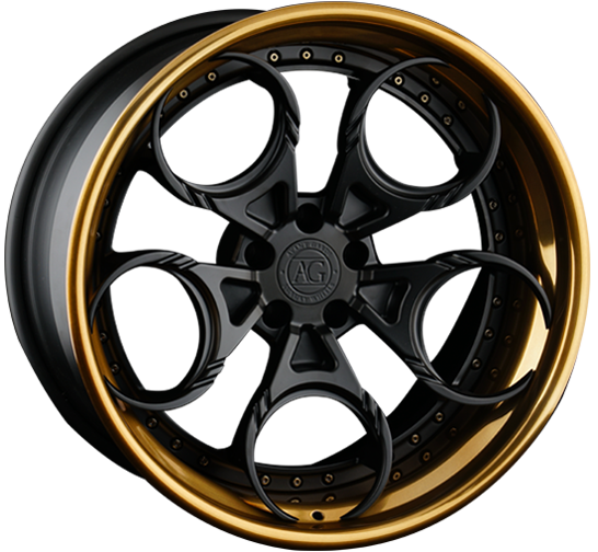 agl46 spec3 three piece agluxury luxury agwheels avant garde wheels wheel spoke matte black liquid bronze brushed polished concave lamborghini phone dial rim rims bespoke custom forged