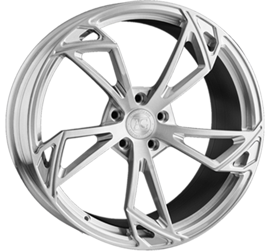 agl47 concave monoblock agluxury agwheels avant garde wheel wheels rim rims brushed grigio graphite gray five spoke rotation lamborghini ferrari lambo custom