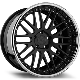 agluxury agl10 concave forged wheels rims agluxury wheels custom black carbon fiber three piece
