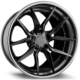 agluxury agl13 concave forged wheels rims agluxury wheels custom black gunmetal three piece