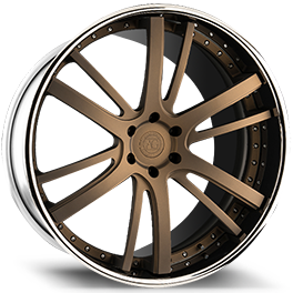 agluxury agl18 concave forged wheels custom three piece spec3 bronze chrome 26in 26inch
