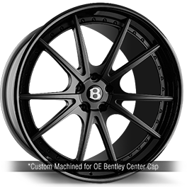 agluxury agl19 concave forged wheels custom 21in 21inch bentley bentayga black murdered out rims