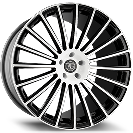 agluxury agl25 duo block concave forged wheels monoblock