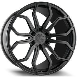 agluxury agl32 monoblock concave forged wheels rims matte black forgiato vossen anarky mesh