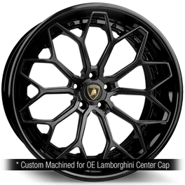 agluxury wheels agl61 spec3 carbon face gloss black custom concave forged bespoke rims lamborghini vossen vellano adv1 forgiato velos designwerks